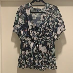 Floral French Connection Blouse